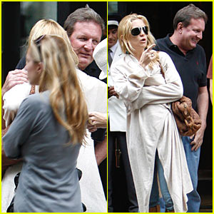 Kate Hudson is Buddies with Billionaire Burkle