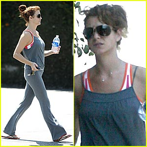 Kate Walsh Stays in Shape