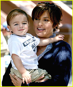 Mariska Hargitay Take Your Son To Work Day August