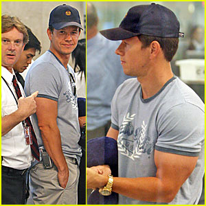 Marky Mark Has Massive Arms