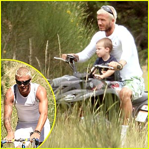 David Beckham: Biking with the Boys
