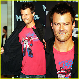 Josh Duhamel Loves His Optimus Prime