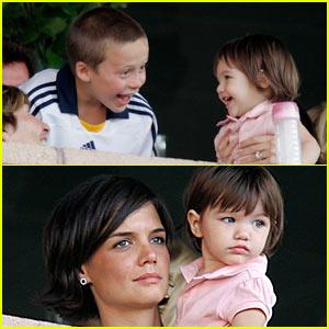 Katie & Suri Cheer on Becks
