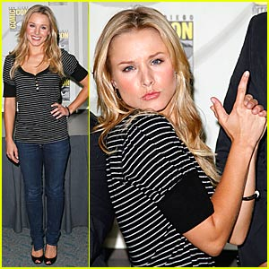 Kristen Bell Brings All the Fanboys to the Yard