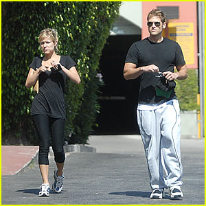 Nick & Kristin's West Hollywood Work-out