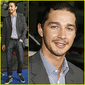 Shia LaBeouf's Fuzzy Facial Hair
