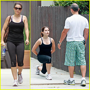 Sophia Bush Works Out Her Gluteus Maximus