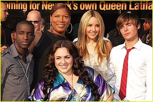 Zac Efron: Welcome Home, Queen Latifah!