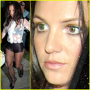 Britney Spears Has Green Eyes