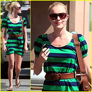 Kate Bosworth Weasels Way Out of Ticket