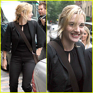 Kate Winslet is a Bemused British Beauty