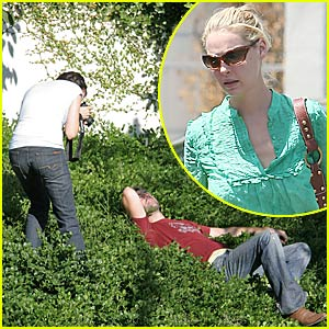 Katherine Heigl Loves Her Bush Man