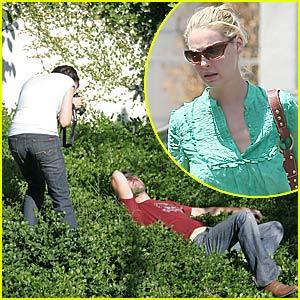 Katherine Heigl Loves Her Bush Man