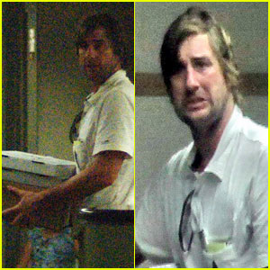 Luke Wilson Visits Brother Owen