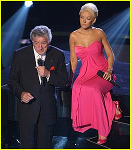 Christina Aguilera's Emmys Performance 2007