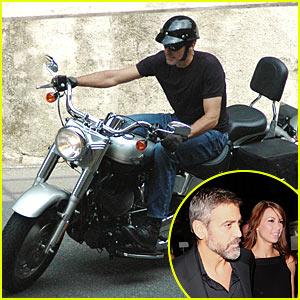 George Clooney's Motorcycle Accident
