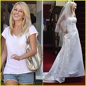 Heidi Montag Goes Wedding Dress Shopping