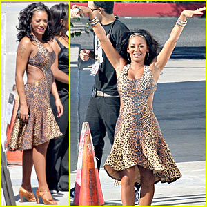 Mel B Cha Cha Cha - Dancing With the Stars, Week 1