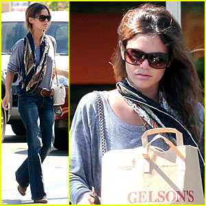 Rachel Bilson's Grocery Shopping Spree