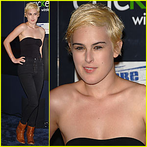 Rumer Willis Has Blonde Hair