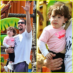 Sadie Sandler: Daddy-and-me Time!
