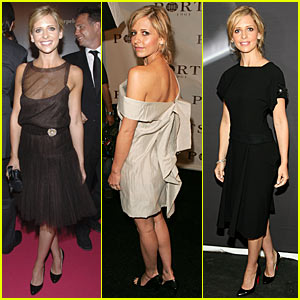 Sarah Michelle Gellar @ NY Fashion Week 2007