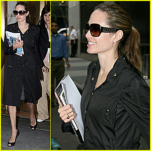 Angelina Jolie @ United Nations Building