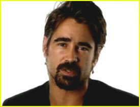 Colin Farrell for UNICEF