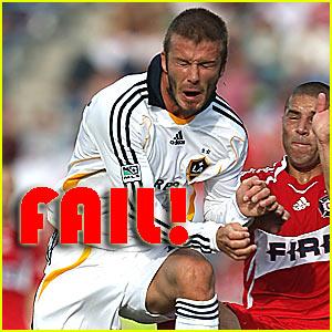 David Beckham: FAIL!