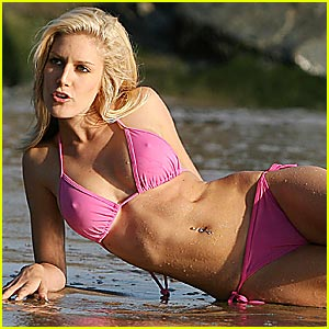 Heidi Montag Bikini Video -- Now Available!
