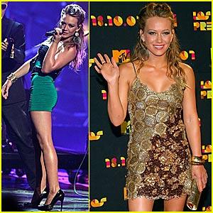 Hilary Duff @ Los Premios 2007