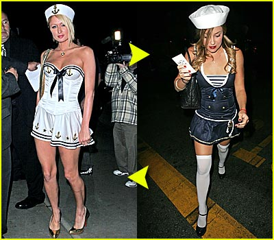 Fashion Faceoff: Sailor Suit Costume