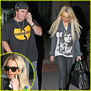 Riley Giles & Lindsay Lohan's Date Night Out