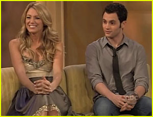 Blake Lively &#038; Penn Badgley @ The View