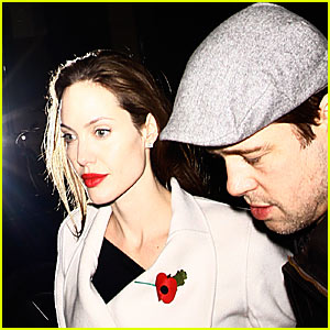 Brad &#038; Angelina: Loved Up in London
