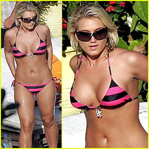 Photos Brooke hogan bikini