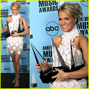 Carrie Underwood Rules @ 2007 AMAs