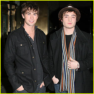 Chace Crawford @ CW11 Studios