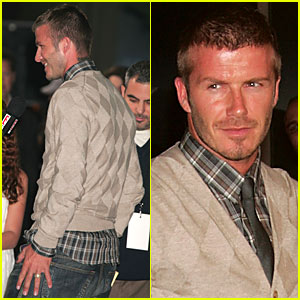 David Beckham @ 'Lions for Lambs' Premiere