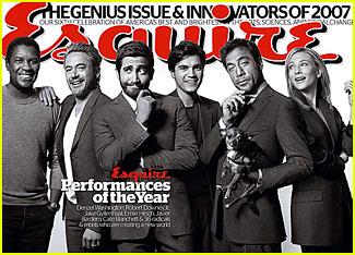 Esquire Magazine - December 2007