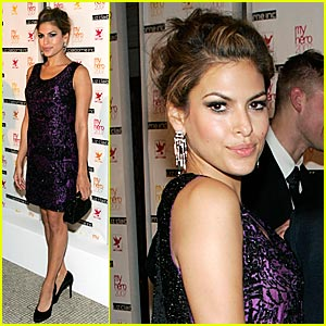 Eva Mendes Provides Aid for AIDS