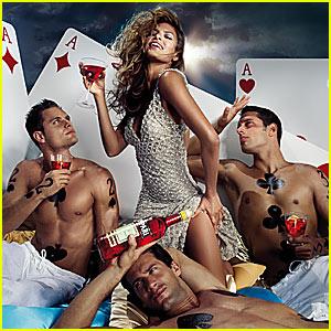 Eva Mendes' Campari Calendar 2008
