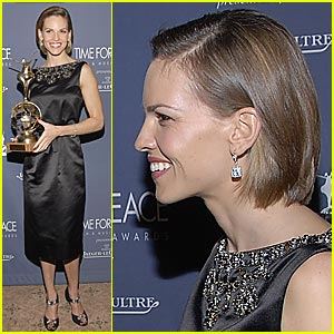 Hilary Swank's Time For Peace