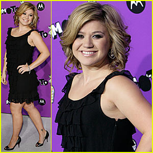 Kelly Clarkson @ Motorola Party