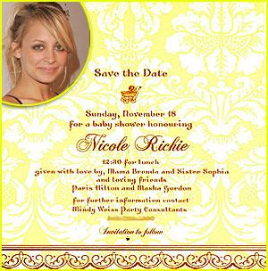 Nicole Richie's Baby Shower