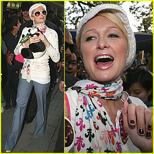 Paris Hilton is a China Girl