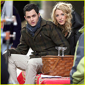 Penn Badgley's Picture Perfect Picnic