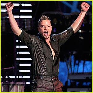 Ricky Martin @ Latin Grammys 2007