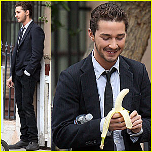 Shia LaBeouf's Banana Break
