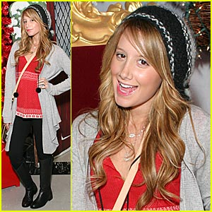 Ashley Tisdale Nose the Reason for the Season